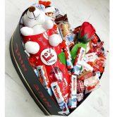 לב שוקולדים