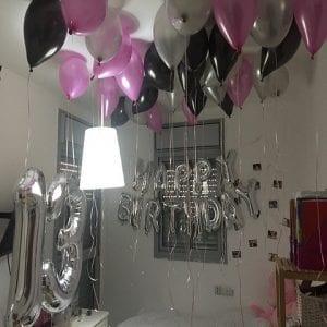 עיצוב חדר בבלונים
