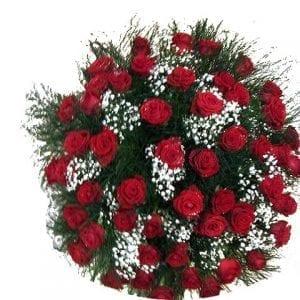 זר ורדים ענק