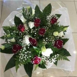 זר פרחים ורדים לזיאנטוס