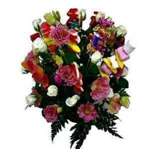 פרחים ומתוקים